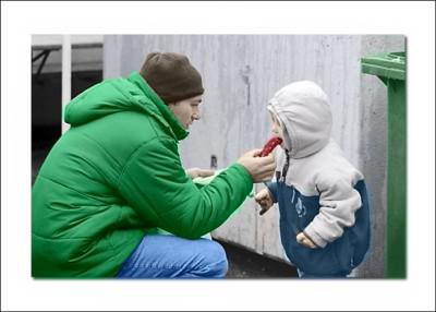 obarvení černobílé fotografie