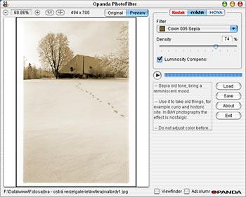 filtry pro digitální fotografii